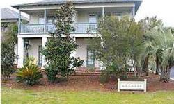 Arcadia is a small 8 unit complex located directly across the street from the beach on Scenic Highway 30A. Located in the low density area of Seacrest, with only 2 units per building, these townhomes feel very private. Arcadia #4 is a 2 story 3 bedroom, 3