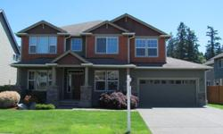 3100 sq. ft. Craftsman style home. This house is a steal at 350K. It was the model home lots of extra's, sprinklers, gas heat pump, security system, theater room. Millwork is like brand new. Brazilian cherry floors and kitchen cabinets. Must see you will