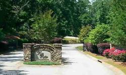 CUL-DE-SAC LOT IN GATED LAKE COMMUNITY. BRING YOUR BUILDER OR USE BUILDER THAT OWNS THE LOT. COME AND ENJOY LAKE SEATON!