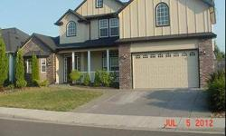 Absolutely stunning house across from Eagle Point GC. Has fenced in backyard with a large covered patio. Family room is huge & has a gorgeous gas fireplace. Kitchen is everything anyone could ask for, granite countertops, tile flooring, custom cabinetry,