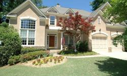 Fabulous Hardcoat Stucco in sought after Park Creek Subdivision! Rocking Chair Front Porch, Open and Light Floor Plan, Two Story Foyer, Vaulted Living Room or Office Study, Formal Dining Room, Two Story Fireside Great Room with Bookshelves, Gourmet