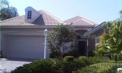 Maintenance free living in the popular Spyglass neighborhood in The Country Club Lakewood Ranch. Offering great room living space with high ceilings & neutral color floor tile. Good sized kitchen with upgraded cabinetry, tiled backsplash and granite
