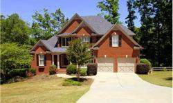 Gorgeous brick home overlooking the golf course on a beautiful piece of land! 1.24 acres, private backyard in a cul-de-sac. Open and bright gourmet Kitchen. Open floor plan. The first floor offers a keeping room off the kitchen, a breakfast area, sunny