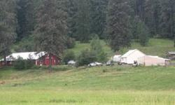 Buy the whole farm! 33.3 acres in 3 parcels Or Home and 19acres Home is stick built in 2005. Small but has good utility. Vinyl windows, maple kitchen w/granite counters.Bedroom upstairs and egress bedroom down. Appliances included. Small bunk house out