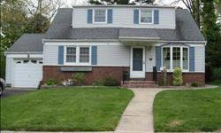LOCATED ON A DEAD-END STREET IN THE WONDERFUL TOWN OF FAIR LAWN. L-SHAPED LIVING ROOM/DINING ROOM COMBO, HUGE FAMILY ROOM WITH CATHEDRAL CEILINGS AND 2 SKYLIGHTS. BEAUTIFUL FIREPLACE ON THE MAIN FLOOR. STEAM RADIATOR HEAT. HARDWOOD FLOORS ON THE FIRST