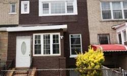 TO VIEW THIS HOUSE, PLEASE CALL 347-915-3541 FANTASTIC RENOVATED 1 FAMILY IN CYPRESS HILL HUGE BEDROOMS WITH SPACIOUS CLOSETS IMMACULATE OPEN LIVING ROOM LAYOUT MODERN KITCHEN PROVIDING EXCELLENT AMBIANCE HUGE WINDOWS THAT FLOOD NATURAL LIGHT THROUGHOUT