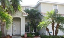 Short sale opportunity for the buyer to be in the great family home in the newer Cayo Costa Estates at Moon Lake. Gated with Low HOA fees. Beautifully landscaped property. Spacious Floor plan. Welcoming Entry has tiled flooring. Large Office/Study on the