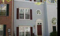 "Two-car, rear garage townhouse at fantastic price! Front door opens to quiet courtyard. HW floors on 3 levels! Sunny kitchen w/ 42"" cabinets, granite counters, breakfast bar, open to breakfast room. Large Liv/Din combination. Master bedrm with 2 closets,"