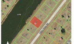 Great lot for the price. Rear of lot is on a canal