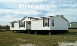 $39900This 1998 Clayton singlewide manufactured home, The Dream model, is 28 X 52 or 1456 square feet and comes with 3 bedrooms and 2 bathrooms, Country style kitchen, beautiful fireplace located on the edge of the kitchen and living room, and a garden