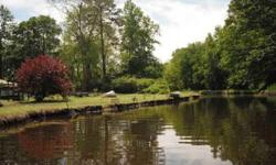 Hunters, fishermen or someone that just wants to have a little place to get away, this may be the place for you. 100'x230' with water and sewer, lot ready to build on, is located on a small creek that empties into a large deep creek, a few miles from the