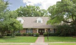 Adorable traditional 2 story Preston Hollow home in The Meadows. Updated kitchen,bathrooms and brand new paint.Large family room windows over looking enormous estate.Perfect layout for a little privacy. Oversized mastersuite w sitting area and marble