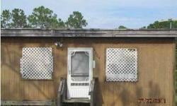 Delightful crab shack hidden in the marshes of Innerarity Pt. Close to the water, ideal for a weekend get away or 2nd home. Very simple abode but close to the beach and has lots of potential! At this price, it's the most inexpensive dwelling around!