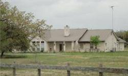 Beautiful austin white stone home with matching electric gate entrance at road. Heather Hayward is showing 1111 County Rd 230 in Giddings which has 3 bedrooms / 3 bathroom and is available for $423000.00. Call us at (979) 743-0566 to arrange a viewing.