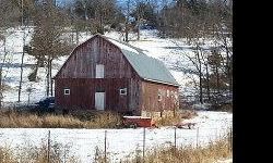 Large 3 story Post and Beam construction barn, 100 years old, excellent condition ... With a huge spring that is said by the locals to produces one million gallons of water a day, and forms a small lake and creek! You have to see this magnificent