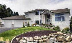Elegant yet comfortable home with custom features. Gorgeous touches throughout 3 living areas, beautiful picture windows take advantage of surround views! Spectacular home for entertaining. Gourmet kitchen, formal & informal dining, loaded with detailed