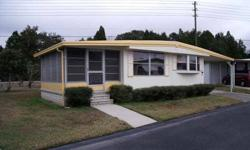 The asking price includes a $36 000.00 share in the park.Listed size does not include a 16x11ft Florida room. Please contact the owner if you are interested in the house without the share. Buying the share provides a 8% return on your investment. Monthly