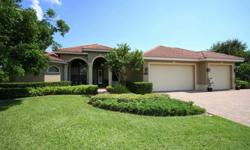 Beautiful, Gulfstream home. Spacious floor plan starts on the large corner homesite, and the oversized driveway and garage area, large enough for boat storage and all the fun toys a family may need. Once in the front entry, formal living and dining areas