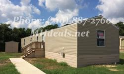 An Excellent Condition 3 bed 2 bath singlewide mobile home. 1,216 square feet (16 x 76). Centrally located and in a great community. This home is perfect for first time home buyers. The home has a beautiful garden tub and separate shower in master