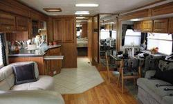 """RV for Sale in Uniontown, KS. Wheelbase 262"""" GVWR 34,600 lbs. Front GAWR 14,600 lbs. Rear GAWR 20,000 lbs. GCWR 44,600 lbs. Hitch Rate 10,000 lbs. Tongue Weight 1000 lbs. Fuel Capacity 100 gals. Overall Length 40'7"""" Overall Height w/ AC 12'7"""" Overall"""