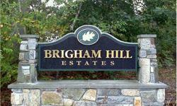"In Brigham Hill Estates - Being Built - Choose your colors, fixtures and custom details. ""Energy Star"" homes with 2x6 constrution. Prices in Brigham Hill Estates start at $450,000 depending on size & style. Call now for information on this 40 lot planned"