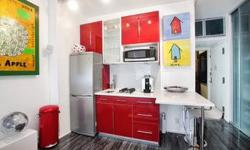 WebID 45848 East village apartment close to Tompkins Square Park . This place has amazing Renovations a very unique style, very well lite. Has Amazing kitchen and bathrooms and costume gigantic closets. There is no apartment like this one in this