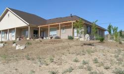 Custom View Home in Carson City. 2533 sf on 1+ acre. 3 bedroom 2 bath 3 car insulated garage. A/C, 2 gas fireplaces, custom hickory cabinets, water conditioning system, alarm system, central vacuum system, Huge kitchen with Island, office, pantry, french