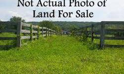 Buld your dream home! Approx 1500ft of road frontage. Beautiful land. Level to gentle rolling. Plat on file.