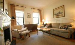 Exceptional Value on the Upper East Side! Large two bedroom in a classic, prewar townhouse boasting many original details coupled with modern renovations. The living room is meticulously designed with wainscoting, crown molding, decorative fireplace and