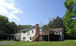 This is an absolutely spectacular place for your perfect retreat from the city to relax and enjoy the nature and beauty of the forest land that surrounds you. Trout Run Farm in Trout Run Valley is just across the Virginia line in Hardy County, WV and a