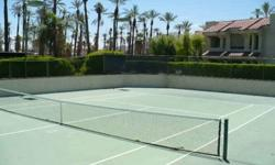 Great vacation spot or full time relaxed Palm Springs living. This great one bedroom condo has a remodeled kitchen and is ready for your final touches. The community pool, spa and tennis courts are a short stroll from your condo and all the benefits of