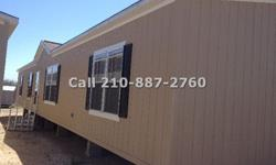 This is the one of the Lowest priced Double Wide home around! Features large open floor plan & island kitchen with 4 spacious bedrooms 2 bathrooms and 3 large walk in closets. Standing with 1,813 square feet (28?x68') this long double wide will be a great