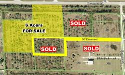 """6 Acres FOR SALE in FLORIDA on the Gulf of Mexico side. What great lots at a great price in """"HOT"""" Charlotte County. Between the Peace River and the Gulf of Mexico, close to Sarasota, Naples and fabulous Boca Grande. Close to Schools, Shopping, Boating,"""