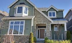 Beautiful Buchan at Chesapeake Landing built green, energy star, with high end custom finishes features rod iron railing; flat molding, kitchen with custom cabinets & Bosch appliances, master with 5-piece elegant bath & walk-in closet, stately den with