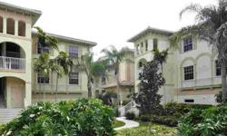 """Southern waterscape lake view from this 2nd floor """"end unit"""" that has many amenities such as - Hurricane Shutters at all windows & slider doors, Plantation Shutters at all windows, built-in office desk in residence, 2.5 baths plus 2 1/2 car garage under"""