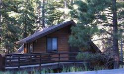 Enjoy the sounds of a year-round Creek and nice Mountain View from this charming cabin in the woods. Remarkably private low elevation location surrounded by Forest Service land with large wraparound deck overlooking Second Creek. Good value!Listing