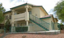 This upper unit is located close to covered parking and pool. Enjoy mountian views from patio, All buyers must be pre-qualified or funds verified.Please identify Nevada Title & Escrow on the purchase contract. Buyers should obtain a free prequalification