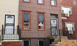 THIS FULLY RENOVATED 2 FAMILY HOUSE IS LOCATED ON A BEAUTIFUL BLOCK IN BED - STUY THE FIRST FLOOR HAS A 2 BEDROOM APARTMENT WITH A BACKYARD AND A FINISHED BASEMENT. THE SECOND APARTMENT IS A 3 BEDROOM DUPLEX WITH A ROOFTOP PATIO. ALL NEW CABINETRY,