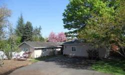 Gorgeous home on expansive property located at end of cul-de-sac. Privacy and mature, colorful trees on sprawling, level yard await you with this home! Lovely main home features 3BD, living room w/fireplace, and downstairs family room. An additional