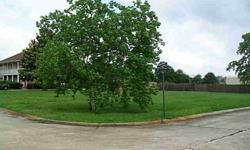 New Listing! Large corner lot on dead end and cul de sac. Waiting for you to build your dream home!
