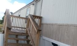 RENT TO OWN this beautiful 3 bedroom and 2 bathroom singlewide manufactured home located in a spacious all- ages family manufactured home community. This manufactured home was built in 1996 and is 16x76 in size.This 1996 home offers central heat and air