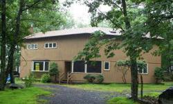 Featuring 1st Floor Master Bedroom Suite, 2 Full Bathrooms, Kitchen, Dining Area with Glass Doors to Deck. Huge Great Room with energy efficient wood stove. Central Air and Heat Pump. Loft area that overlooks the Great Room. 10 x 10 Shed and enclosed