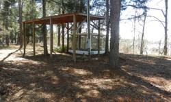 Wooded 1 Acre lo on Tippins Lake,RV Shelter, Screen Room, Septic tankand water. Boat Ramp priviliges