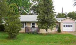 Quiet Neighborhood, Convenient to shopping. 1 Level ranch with 2 bedrooms, 1 bath, large eat-in kitchen, laundry room and breezeway leading to garage, backyard and front yard. 1 car attached garage. Furnace and A/C new 2010. Other updates include