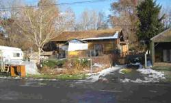 Great location close to bus line,shopping,gas & restaurants,zoned for 2-4 unit.Duplexes will not pass inspection but located on valuable lot in town.Listing originally posted at http