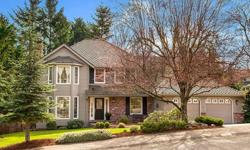 Welcome home to popular Hampton Woods! Inviting 2-story on a beautiful, sunlit lot with enchanting front courtyard & large fully fenced backyard with entertainment patio & colorful flower beds. Tasteful updates include remodeled kitchen, new interior