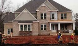 *new construction, never lived in* 5 beds,four baths with three sides brick, full front porch and side entry garage.beautiful avalon floor plan featuring a two level foyer, a dedicated dining area area with tray ceiling, an expansive great room with a