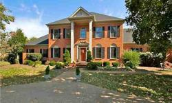 This brick stately home has a homesite you won't believe- seller has just updated kitchen with new granite and cooktop views of kitchen window is a wonderful deep back yard w/a private par 3, nine hole golf course, expansive deck, mst. down, sizeable