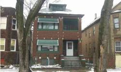 Rented for 600/month rent per unit.Brick 2-flat in fantastic condition. Building being sold as-is. Serious, cash offers only. Listing originally posted at http