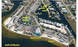 Nature Coast Super Deep Water Channel/Location! Very short walk to Hudson Beach, Restaurants, Entertainment, Motel Accommodations and Marina. This location has a 2/1 manufactured home with central air conditioning, numerous upgrades and tile flooring.